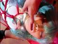 【コスプレ】レーシングミクコス美少女が緊縛拘束されて感じまくりフェラチオ